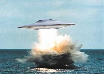 Secondo i dossier della Marina Russa, gli UFO amano l'acqua