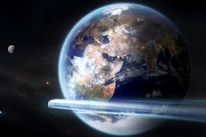 Staffetta di asteroidi visita la Terra