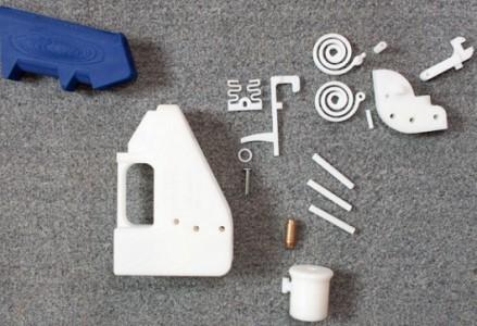 Usa: al via la prima pistola stampata in 3D