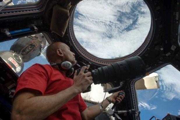 Luca Parmitano: le prime foto dallo spazio
