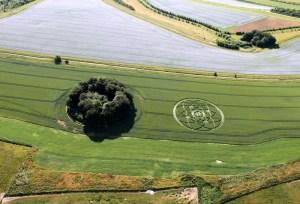 Crop Circle: spettacolare formazione a Hackpen Hill