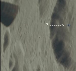 Misteriosa anomalia sulla Luna fotografata da Apollo 17