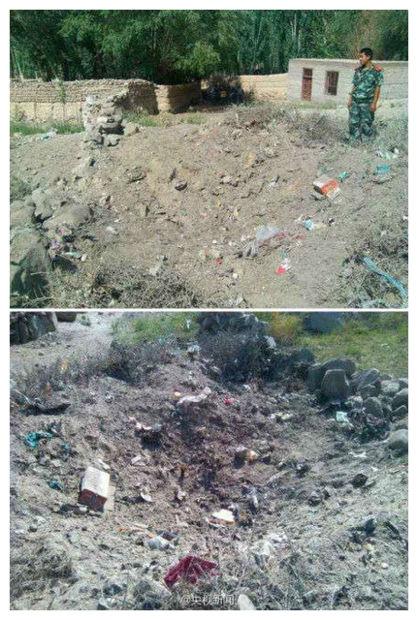 Meteorite su una discarica nel nord-ovest della Cina