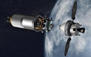 Prende forma Orion la navicella della NASA