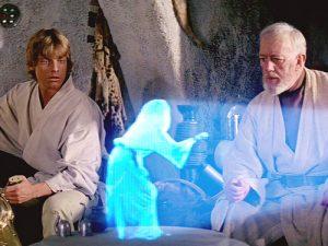 Come in 'Star Wars' arriva il telefono che permette di parlare con gli ologrammi