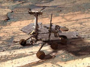 Opportunity: su Marte appare una roccia vagante