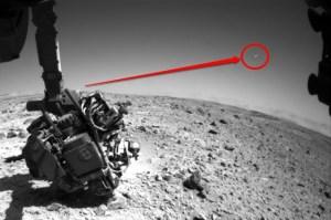 Marte: Ufo, meteora o errore dell'obiettivo?