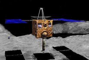 Sonda spaziale giapponese riprende oggetto misterioso su asteroide