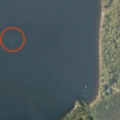Il Mostro di Loch Ness fotograto dallo spazio