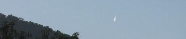 Oggetto non identificato ripreso nel cielo di Ibiza