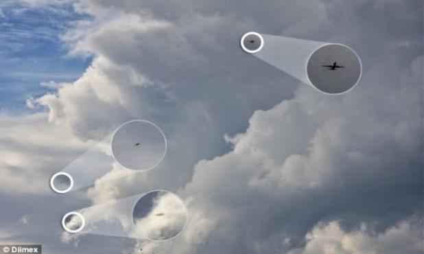 Sidney: due ufo inseguono aereo di linea