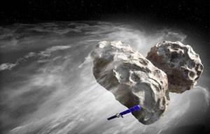 La cometa di Rosetta in realtà è un UFO