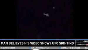 Filmato Ufo nei cieli di Charlotte
