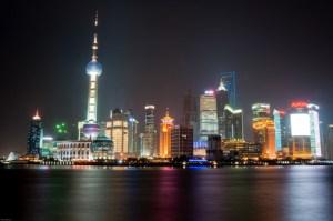 Immortalato Ufo a Shanghai
