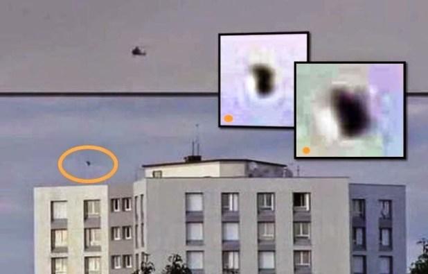 Ufo inseguito da un elicottero della polizia di Parigi