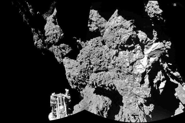 Rosetta fotografa una base aliena sulla cometa - Segreti e Misteri
