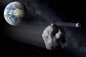 Terra incontro ravvicinato con tre asteroidi