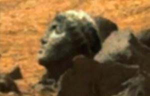 Trovata testa del dio Apollo su Marte