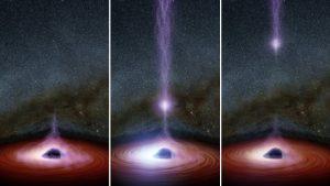 Cosa è uscito dal buco nero Markarian 335?