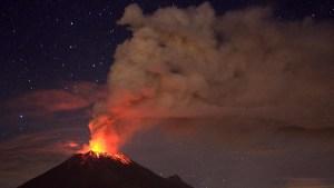 Sta per esplodere il vulcano Popocatépetl