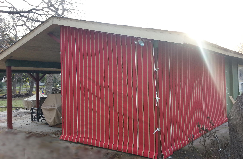 Drop Curtains Amp Solar Screens