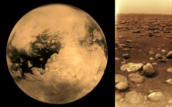 Drenajes en el suelo de Titán; presumen que alguna vez hubo agua