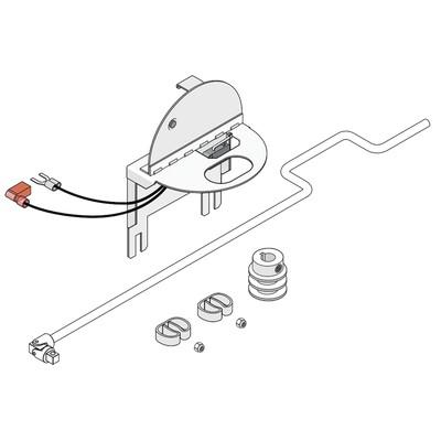 1602-170 , Kit de operación manual para barrera 1602-090