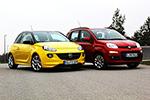 Comparativa: Fiat Panda vs. Opel Adam - ¿Tradición o atrevimiento?