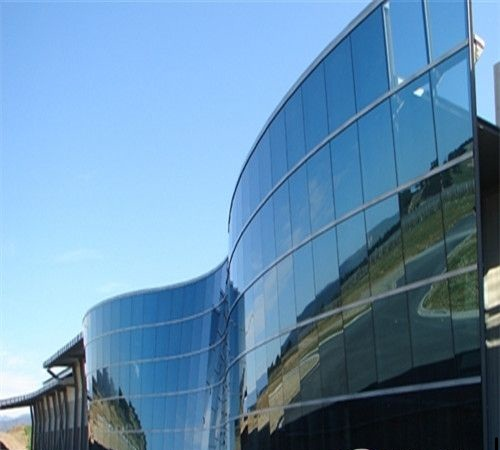 Online-Coating-Reflective-Glass-for-Building