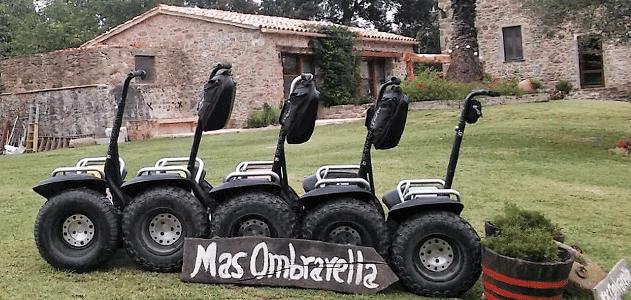 Segway-Tour Garrotxa Mas Ombravella Naturtourismus