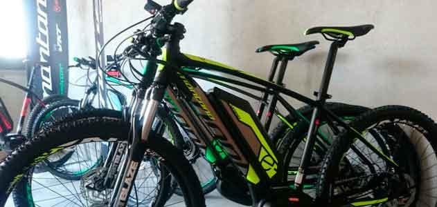 Nou servei de bicicletes electriques a Santa Pau