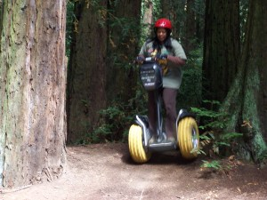 Segway Off Road Adrenalin Tour Jump