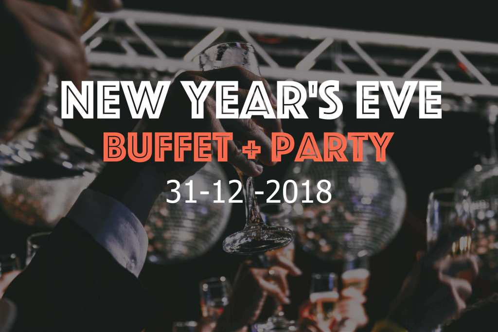New Year's Eve buffet and party