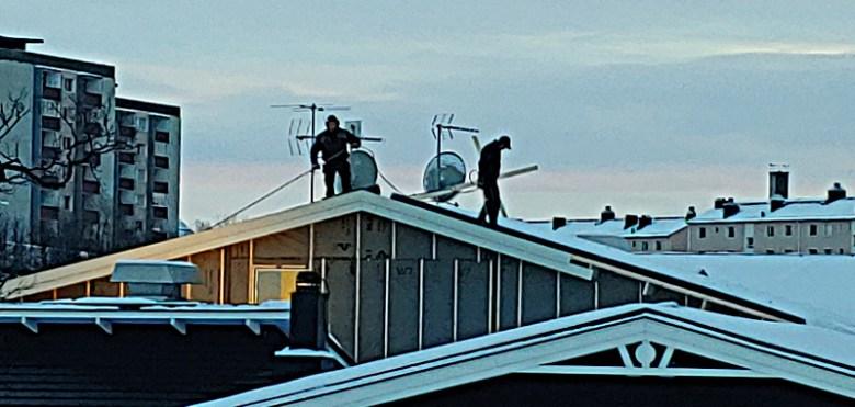 Dachdecker in Kiruna
