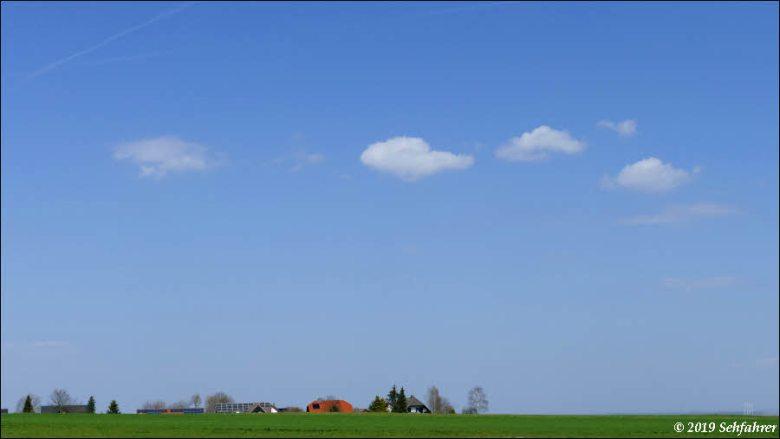 Dorf am Horizont