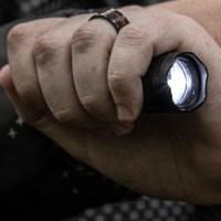 Taktische Taschenlampe (Symbolfoto)