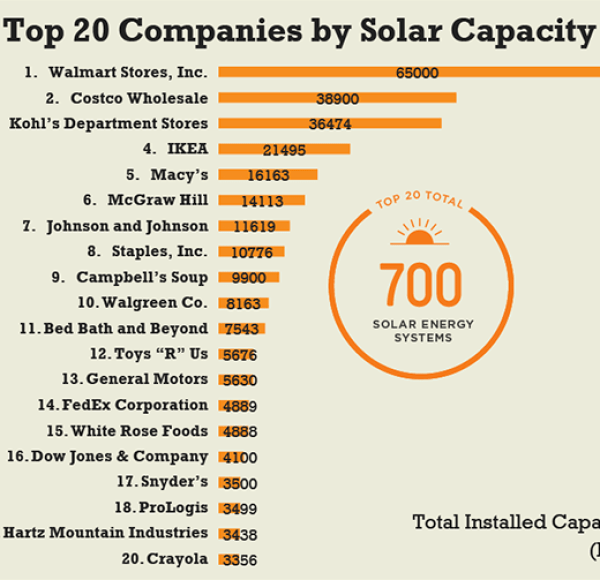 Top Companies with Solar