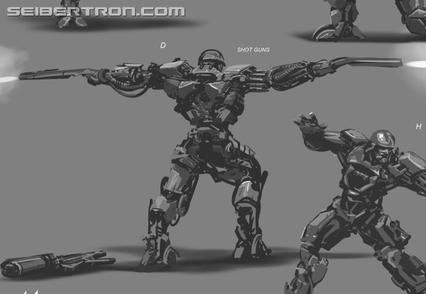 Concept Art Age Of Extinction - Transformers
