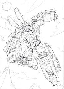Transformers: Legends Marcelo Matere Artwork