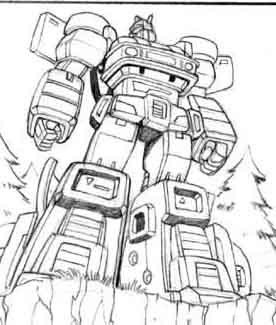 Unpublished Guido Guidi Transformers G1 and Energon Art