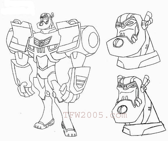 Magnificent Transformers Coloring Pages To Print Model
