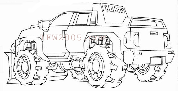 Optimus Prime Head Coloring Coloring Pages