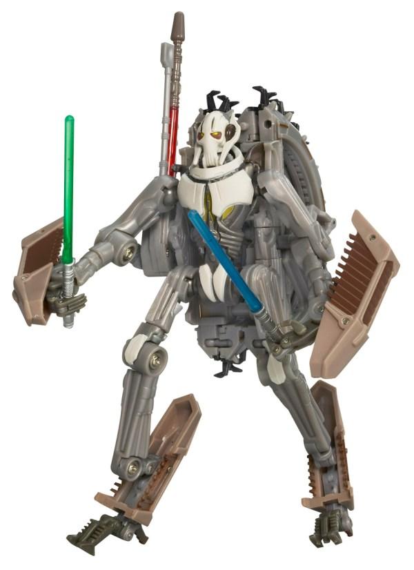 General Grievous Wheel Bike - Star Wars Transformers