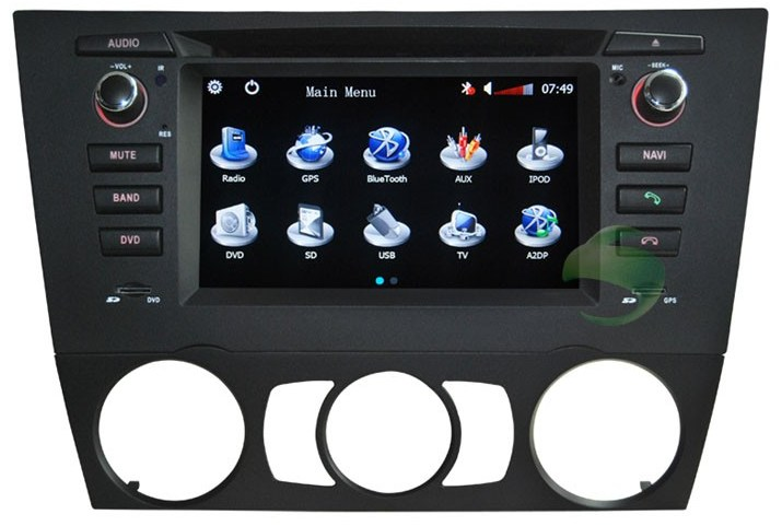 Car DVD player for BMW 3 Series E91(manual air-conditioner)