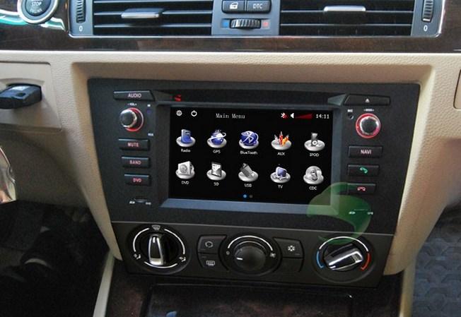 Car DVD player for BMW 3 Series E92