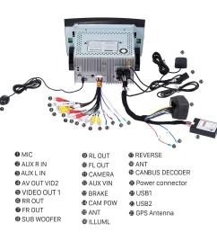 2000 2001 2002 2003 2004 2011 mercedes benz slk class slk200 slk280 slk350 2006 stereo wiring harness adapter [ 1500 x 1500 Pixel ]