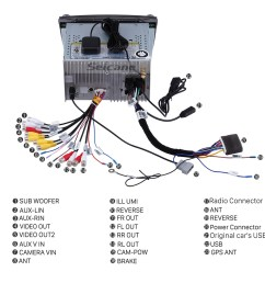 2009 2010 2011 2012 2013 subaru outback factory radio to install a aux cable cd wiring harness for subaru outback 2011 car radio 6 cd [ 1500 x 1500 Pixel ]