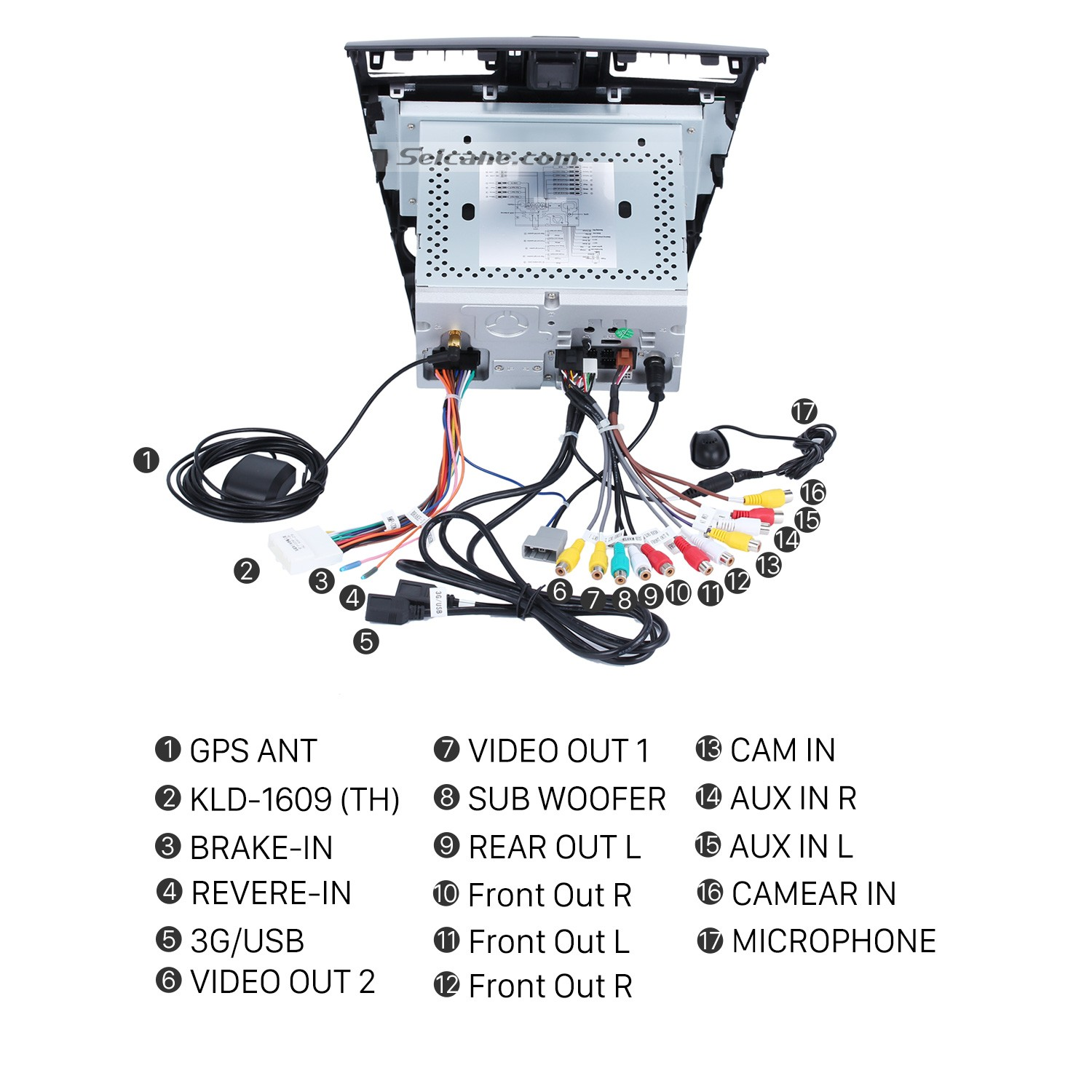 2009 subaru forester stereo wiring diagram belt 2003 ford windstar 3 8 how to install and upgrade a 2014 2015 2016 car for the further confirmation of right connecting all connectors cables you can