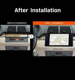 1996 1997 1998 1999 2003 bmw 5 series e39 520i 523i 525i m5 car radio [ 1500 x 1500 Pixel ]