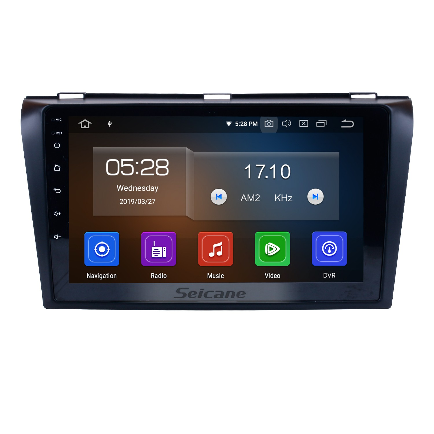 hight resolution of all in one android 9 0 2004 2009 mazda 3 radio upgrade with in dash gps navigation